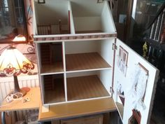1.12th Dolls House REDUCED FOR QUICK SALE Arts And Crafts House, Bunk Beds, Shelves, Dolls, Ebay, Furniture, Home Decor, Baby Dolls, Shelving