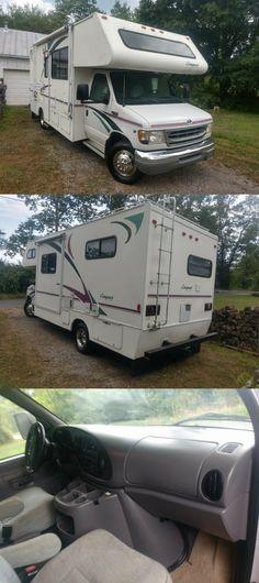low miles 2000 Ford E450 Gulf Stream camper
