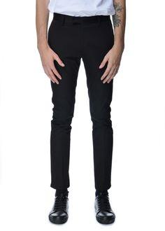 Acne Studios - Fall Winter 2015 - Menwear // Black Max Satin pants