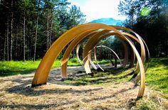 Luca Degara – L'Avvolto 2012 – Ledro Land Art