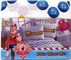 Candy Crush Saga Twin Sheet Set Licensed By King Cotton Rich #JayFrancoSons