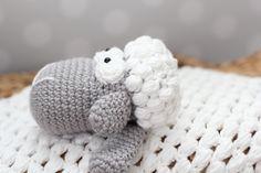 Lambie Security Blanket  Crochet Pattern