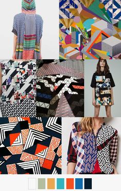 GEOMETRIC MASH-UP PatternCurator.org SS2017