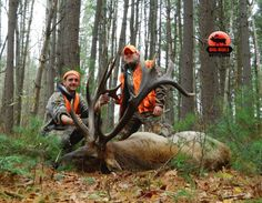 BIG BULL OUTFITTERS of Byrnedale, PA: BIG BULL Outfitter guide Nick Mackenzie and hunter...