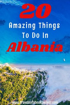 Are you planning a trip to the Balkans? Read about some travel inspiration for Albania! Twenty awesome things you should do in this amazing underrated country. 20 great ideas for Albania! #albania #balkan #travelinspiration #balkans #albaniabeach #thingstodoinalbania #travelplanningalbania #reasonstovisitalbania