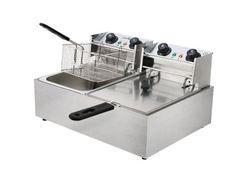 Commercial Benchtop Deep Fryer w/ Double Basket