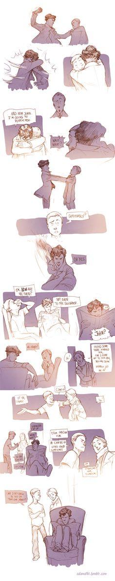 Teen Sherlock Returns Of John Watson Pt3 by DrSlug.deviantart.com on @deviantART
