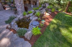 Vike - traditional - patio - portland - by Paradise Restored Landscaping & Exterior Design