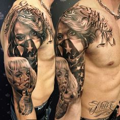 chicano day of dead girl tattoo - Google Search