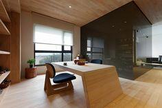 Стильная, футуристическая квартира в Тайбэе | Про дизайн|Сайт о дизайне интерьера, архитектура, красивые интерьеры, декор, стилевые направления в интерьере, интересные идеи и хэндмейд