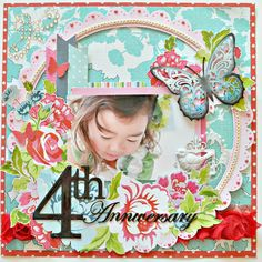 4th Anniversary - Kaisercraft - Miss Nelly Collection