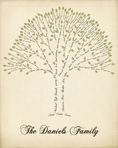 Cool family tree