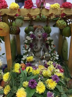 Mandir Decoration, Ganapati Decoration, Decoration For Ganpati, Ganpati Festival, Diwali Festival, Hanuman Pics, Eco Friendly Ganesha, Ganesh Chaturthi Decoration, Silver Pooja Items