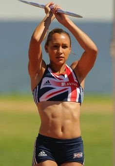 Jessica Ennis. My favourite athlete of the London 2012 games!!
