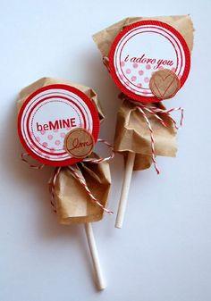 Packaging for lollipops