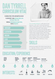 Dan Tyrrell CV  #resume #CV