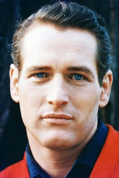 Paul Newman, great actor & close-up of him