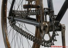 """1896 Simpson Cycle, Co... with unique """"lever chain""""..."""