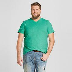 Men's Big & Tall V-Neck T-Shirt - Mossimo Supply Co. Green 2XB