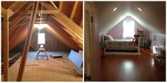 Converting An Attic Into A Bedroom Is Often Ideal Solution For Providing Additional Living Space Returning Adult Child To Your Home Or