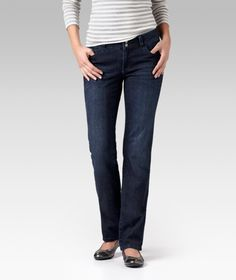 Do you have a curvy silhouette? These straight leg jeans fit smaller in the waist to flatter your hips and help prevent gaping. Ideal for everyday wear, they feature shape-retaining Denver Hayes Soft fabric to keep them looking like new wash after wash.   Mark's Work Wearhouse, Yorkton