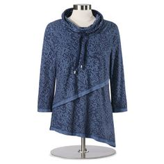 a9c0fb2298 Damask French Terry Tunic French Terry