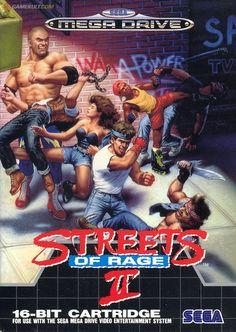 Streets of Rage II - Mega Drive