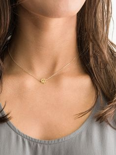 Delicate Lotus Necklace