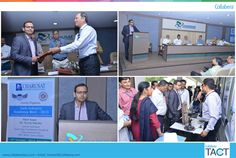#CollaberaTACT sponsored Gala Industry Academia Meet at CHARUSAT University. The event was organized with an objective of bringing industries and academics closure and investing in research and development, and Collaboration to provide relevant education to students. An MOU was exchanged between Collabera and CHARUSAT under which Collabera extends its support to students and faculty members of the university by training them in #emerging #technologies.