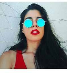 #sunglasses #selfie #gopro #goprooftheday #nature #home #aroundtheworld #shades #makeup #lips #redlips #shades #portugal #photography #cute #hair #longhair #browsonfleek #blogger #style