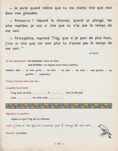 French Expressions, French Education, Teaching French, France, Reading Comprehension, Short Stories, Images, Books, David