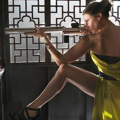 [Dressed to Kill] Mission Impossible's Rebecca Ferguson in chartreuse gown designed by famed Hollywood costume designer Joanna Johnston, accessorized with Isharya Goddess power cuff and JIMMY CHOO sandals.    ‪#‎missionimpossible‬ ‪#‎roguenation‬ ‪#‎rebeccaferguson‬ ‪#‎isharya‬ ‪#‎jimmychoo‬ ‪#‎joannajohnston‬ ‪#‎costumedesign‬ ‪#‎costumedesigner‬