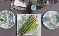 Paris, die Stadt der Liebe - immer eine Reise wert. Das passende Geschirr dazu gibt es von Gien: Paris à Giverny. Wie wäre es mit einem Picknick im eigenen Garten oder auf dem Balkon?