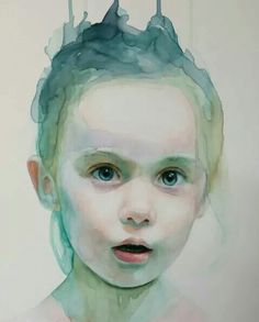 Ali Cavanaugh - with watercolor