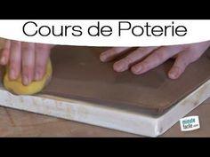 Faire de la Poterie : assiette avec une plaque - YouTube                                                                                                                                                     Plus
