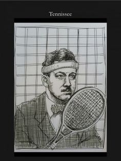 'Tennissee' from Timothy Leo Taranto's series of literary puns.
