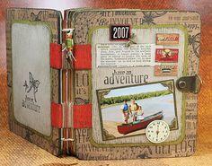 handmade book--Kay's Keepsakes