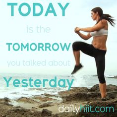Stay inspired with Melissa at www.dailyhiit.com