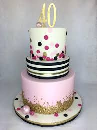 Astounding Image Result For Birthday Cakes For A 40 Year Old Woman With Birthday Cards Printable Benkemecafe Filternl