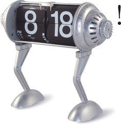 """5.8"""" x 5.2"""" Flip Desktop Clock"""