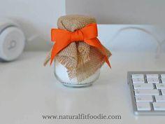 DIY Sweet Orange & Cinnamon Air Freshener Baking soda Organic Sweet Orange Essential Oil Cinnamon stick Grated orange rind