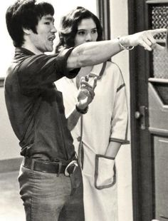 On the set of Enter the Dragon