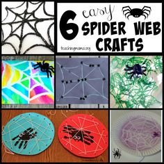 6 Easy Spider Web Crafts For Toddlers And Preschoolers