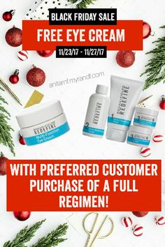 FREE Rodan and Fields Multi-Function Eye Cream with purchase of a full regimen (Redefine, Unblemish, Reverse, or Soothe)! Black Friday sale starts Nov. 23 2017 through Nov. 27 2017. Offer valid only at anitarnf.myrandf.com. Free product will ship to delivery address when your order has confirmed delivery. Email me at anitarnf1@gmail.com for questions or concerns. #BlackFriday2017 | Free Stuff | Black Friday | Cyber Monday deals