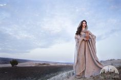 """Fantasy Linen """"Wanderer"""" Dress Robe"""