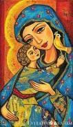 Resultado de imagen para virgen madonnas pintura en tela