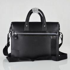 Bally Briefcase black Bag For Men