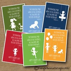 Father's Day Printables on Etsy Fathers Day Verses, Happy Fathers Day, Fathers Day Gifts, Good Daddy, Verses For Cards, Dear Mom, Church Activities, Silhouette, Diy Cards