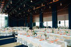Modern Tempe Wedding. Table arrangements