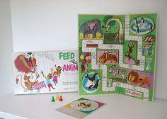 Mid-Century Animal Board game